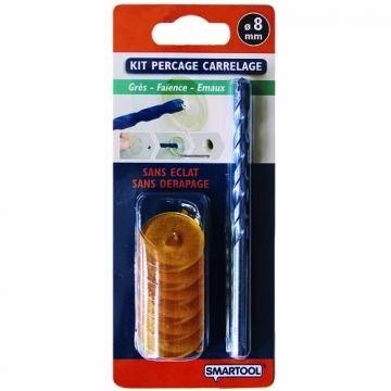 Kit per age carrelage 8 mm smartool smartool bricoler malin - Kit reparation eclat carrelage ...